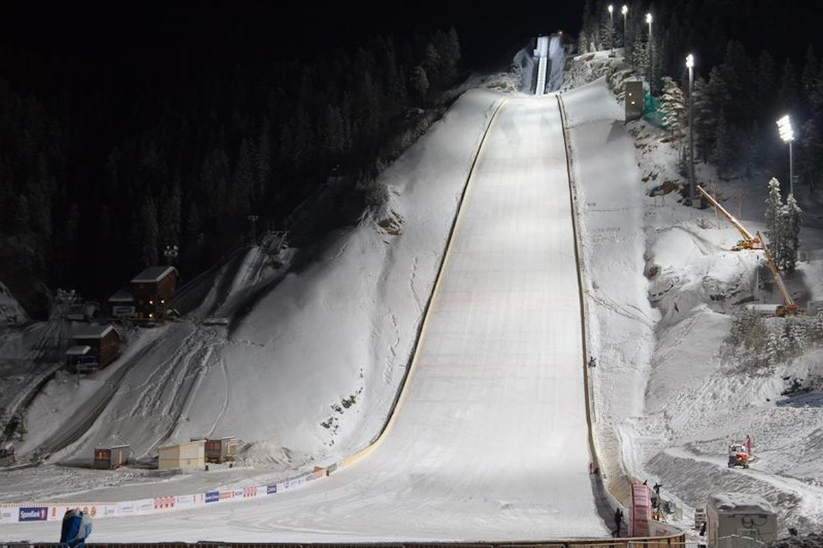 Zmagania na mamuciej skoczni w Vikersund zastąpią odwołany konkurs w Oslo