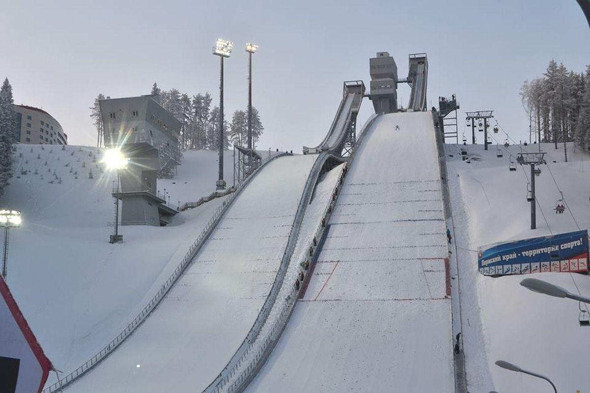 Czajkowski Sniezynka fot.FIS .Ski .Jumping.Chaikovsky - Rosja - skocznie