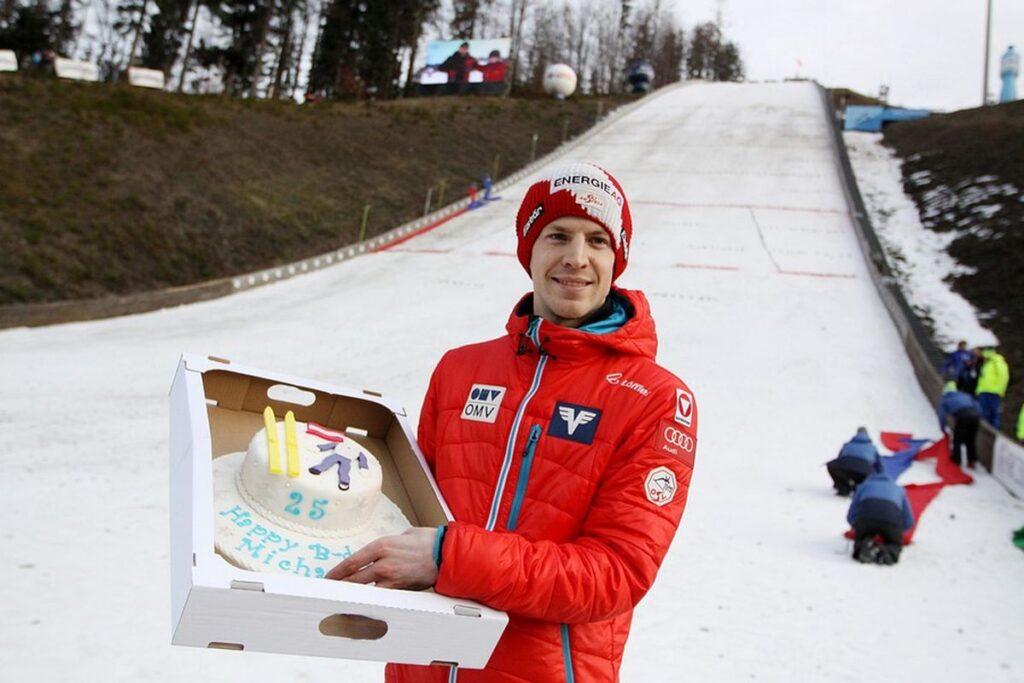 Michael Hayboeck obchodził swoje 25. urodziny na skoczni w Wiśle