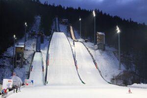 Kompleks skoczni Skalite w Szczyrku (fot. Alicja Kosman / PZN)