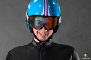 Jakub Kot - rekordzista skoczni w Lubawce (fot. Martyna Osuchowska / Behind the Sport)