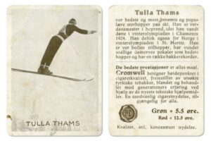123. rocznica urodzin legendy. Jacob Tullin Thams zdobył olimpijski medal nie tylko w skokach