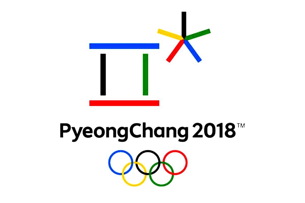 Logo Zimowych Igrzysk Olimpijskich PyeongChang 2018