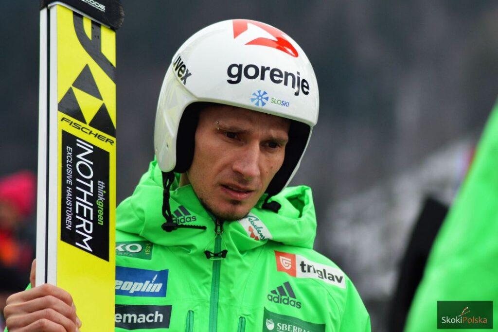 Słoweńcy trenują w Planicy, Kranjec po kolejnym zabiegu ręki