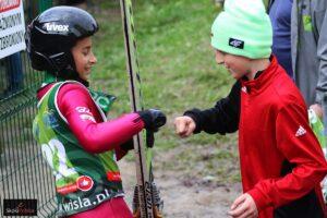 Najmłodsi walczyli o Puchar Burmistrza Miasta Wisła (FOTORELACJA)