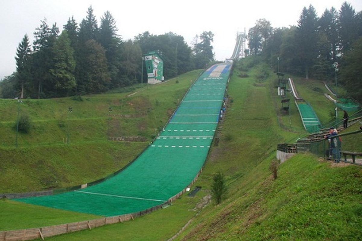 Velenje Grajski.Gric fot.SSK .Velenje 1200 - W słoweńskim Velenje powstaną nowe skocznie narciarskie