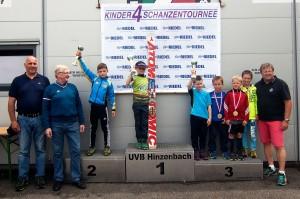 Tymoteusz Cienciała na podium w Hinzenbach, fot. archiwum zawodnika
