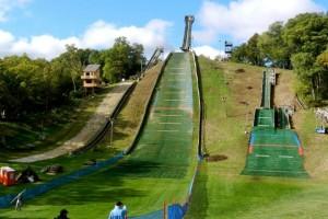 Fox River Grove - 'Carry Hill' - rodzime skocznie Kevina Bicknera, fot. USA Ski Jumping