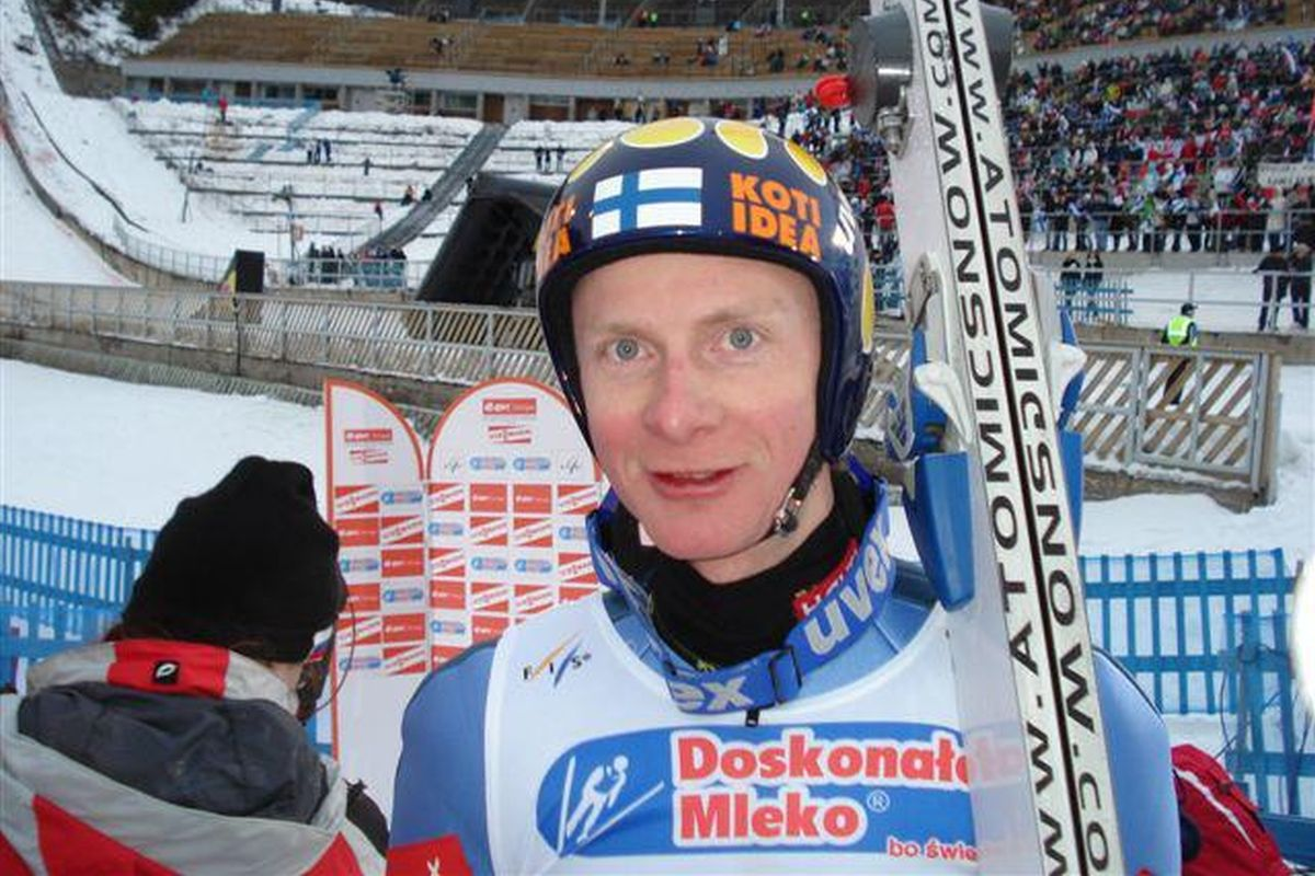 Kiuru Tami skoczek fot.Tuija .Hankkila Lahti - FINLANDIA (byli skoczkowie)