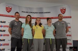 Polska kadra kobiet ze sztabem szkoleniowym (fot. Bartosz Leja)