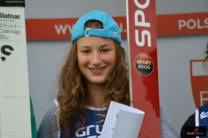 Rajda Kinga Szczyrk.2016 fot.B.Leja  300x199 - FIS Cup Pań: Kinga Rajda ponownie zwycięża w Szczyrku!