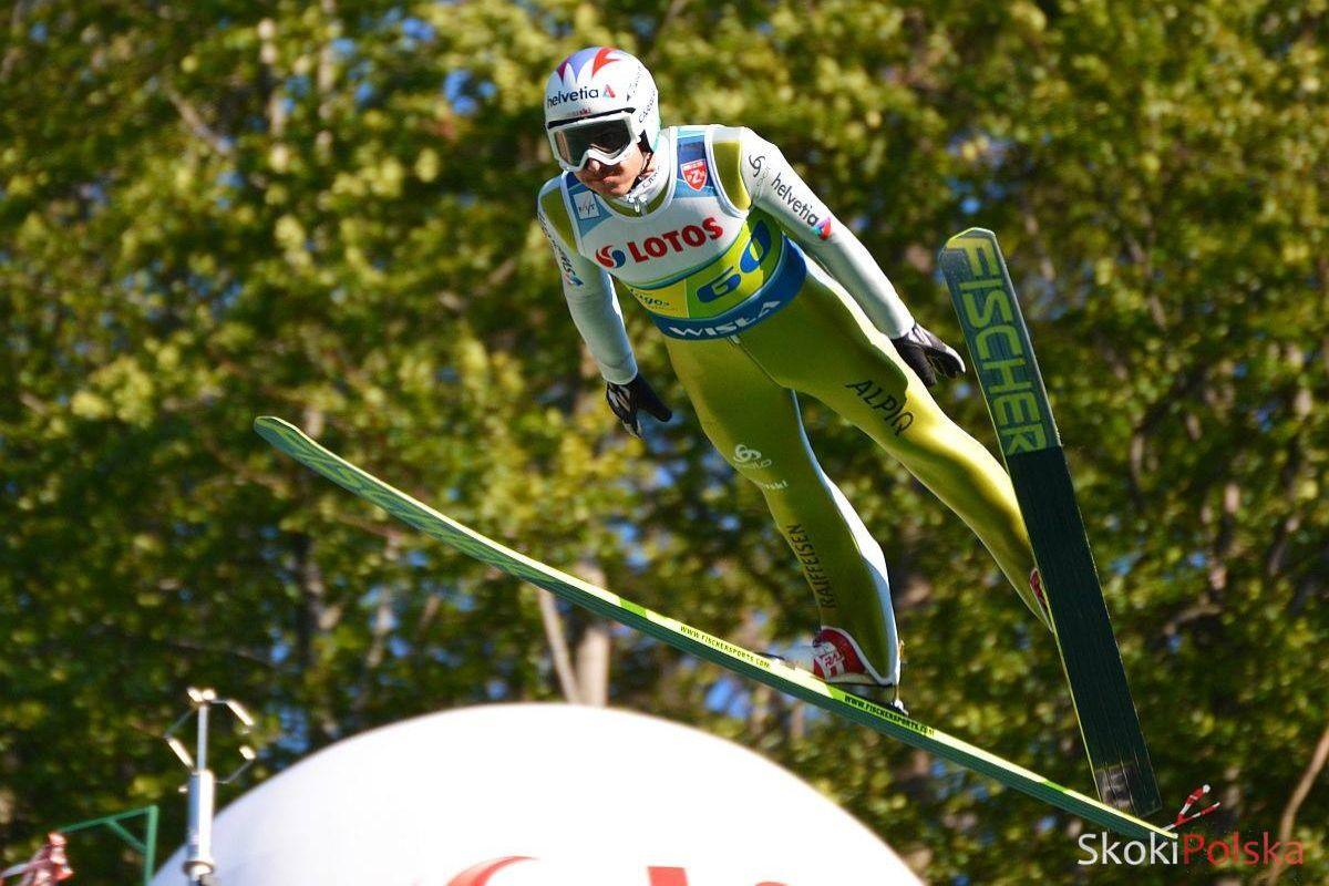 Simon Ammann (fot. Bartosz Leja)