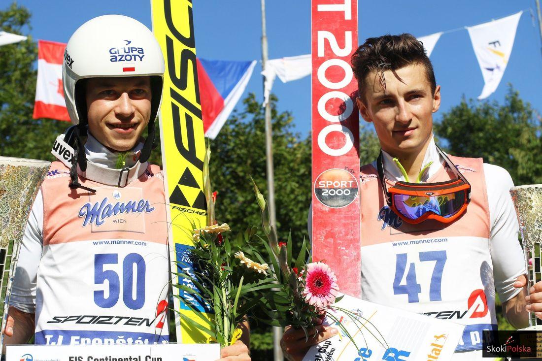Aleksander Zniszczoł i Bartłomiej Kłusek (fot. Julia Piątkowska)