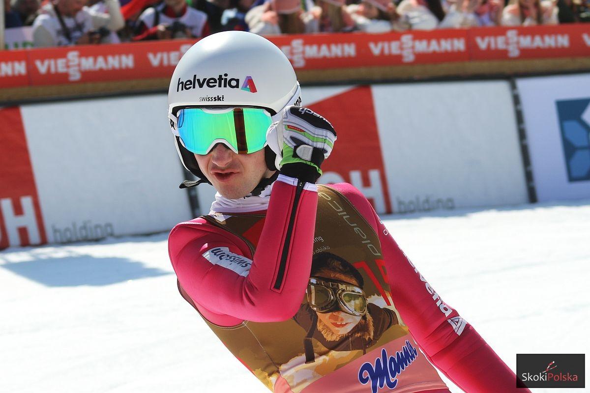 Simon Ammann (fot. Julia Piątkowska)
