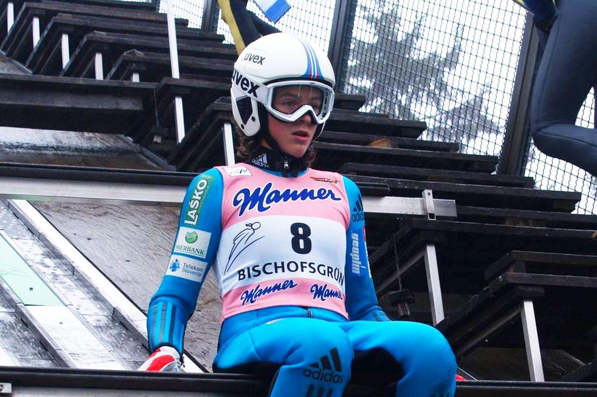 Brecl Jerneja fot.Klaus .Purucker - Alpen Cup Pań: Słowenki zdominowały zawody w Einsiedeln