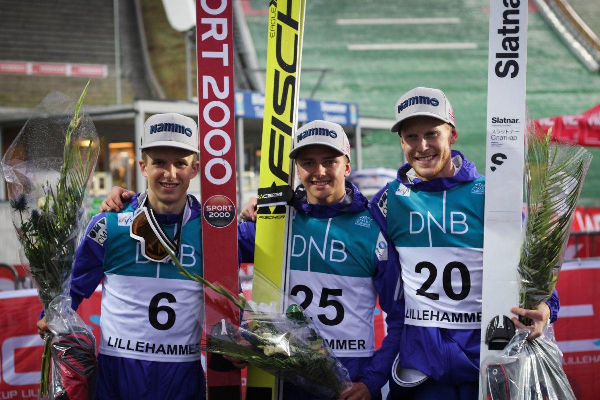 LPK.Lillehammer.2016 Granerud.Bjoereng.Johansson fot.WC .Lillehammer - LPK: Norweska dominacja i pech Ziobry w Lillehammer