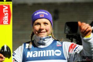 PŚ Pań Lillehammer: Takanashi i Lundby najlepsze w treningach