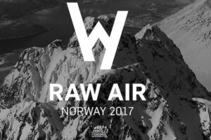 Logo norweskiego turnieju Raw Air (fot. skiforbundet.no)