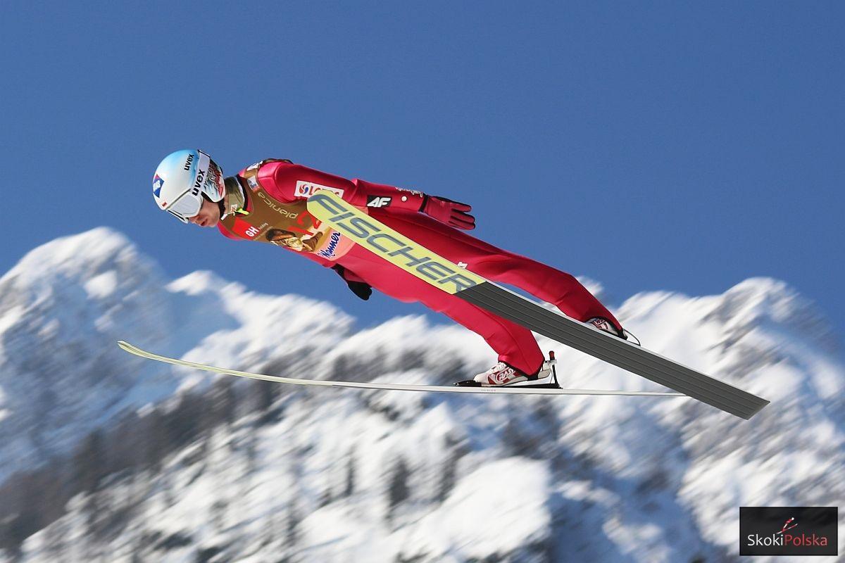 Polska szóstka na loty narciarskie w Oberstdorfie