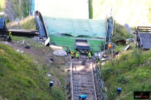 Trwa modernizacja Wielkiej Krokwi w Zakopanem (FOTORELACJA)