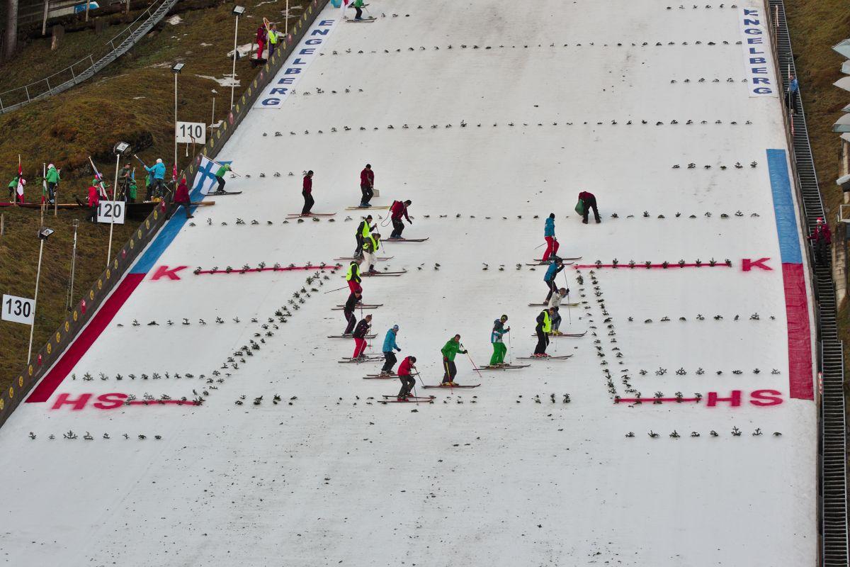 Engelberg Gross Titlis Schanze fot.Clement.Bucco Lechat CC.BY SA.3.0 - Skocznia w Engelbergu zmodernizowana, będą dalsze skoki!