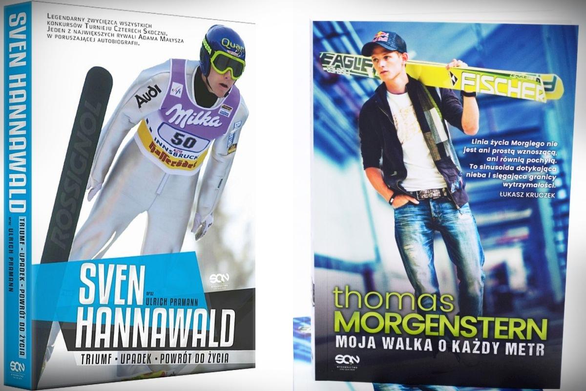 Biografie Svena Hannawalda i Thomasa Morgensterna (fot. wydawnictwo SQN)