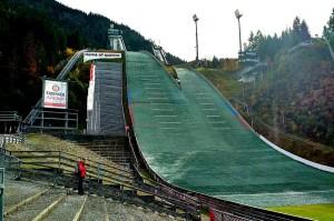 Kompleks skoczni w Oberstdorfie, fot. Alicja Kosman / PZN