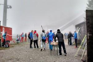 Treningi we mgle, fot. Alicja Kosman / PZN