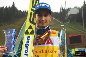 Maciej Kot - zwycięzca LGP 2016 w Klingenthal (fot. Julia Piątkowska)
