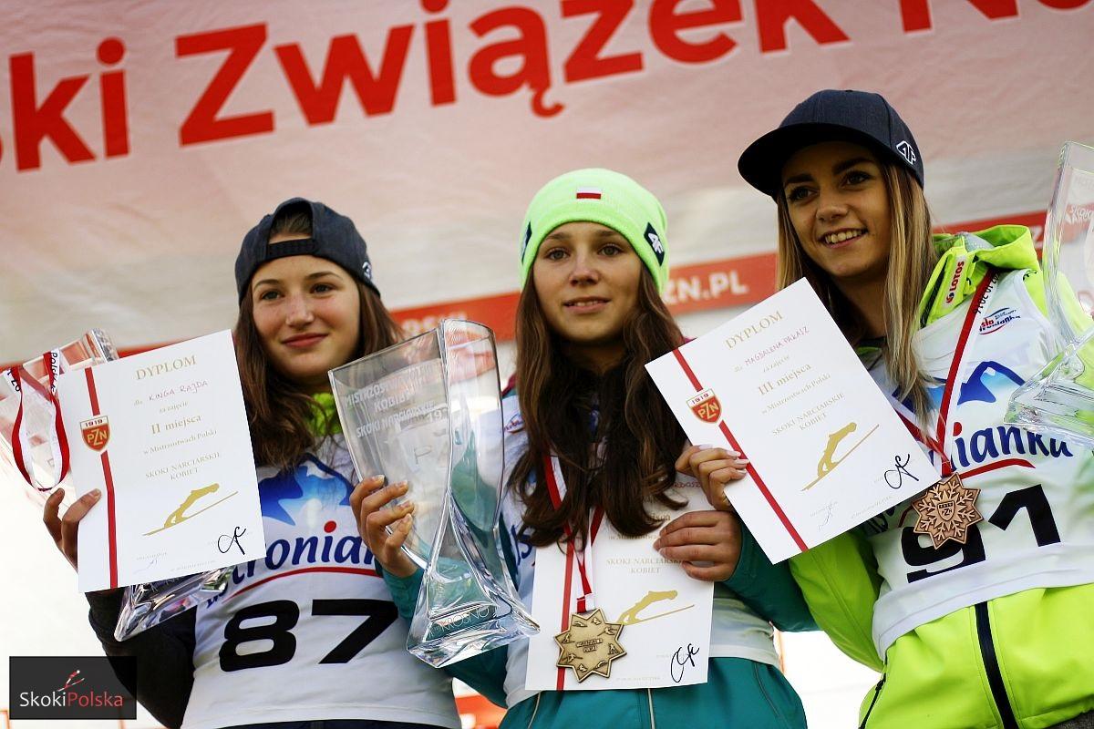 Anna Twardosz przed Kingą Rajdą w Mistrzostwach Polski kobiet!