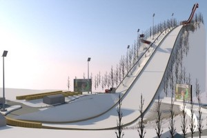 Oberstdorf - wizualizacja nowej 'Heini-Klopfer-Skiflugschanze', fot. skiflugschanze-oberstdorf.de