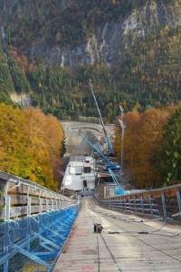 Oberstdorf - przebudowa 'Heini-Klopfer-Skiflugschanze', fot. skiflugschanze-oberstdorf.de / Facebook.com/skiflugschanze