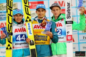 LGP Klingenthal: Kot wygrywa z rekordem skoczni, Stoch na podium!