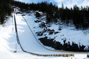 Młodzież wybuduje nową skocznię narciarską w Vikersund