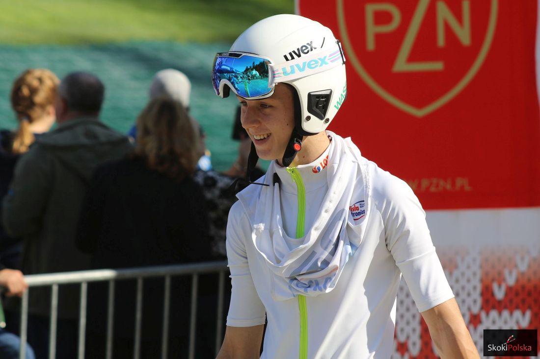 Wasek Pawel LPK.Wisla .2016 fot.Julia .Piatkowska - FIS Cup Rasnov: Paweł Wąsek z pierwszym zwycięstwem w karierze!