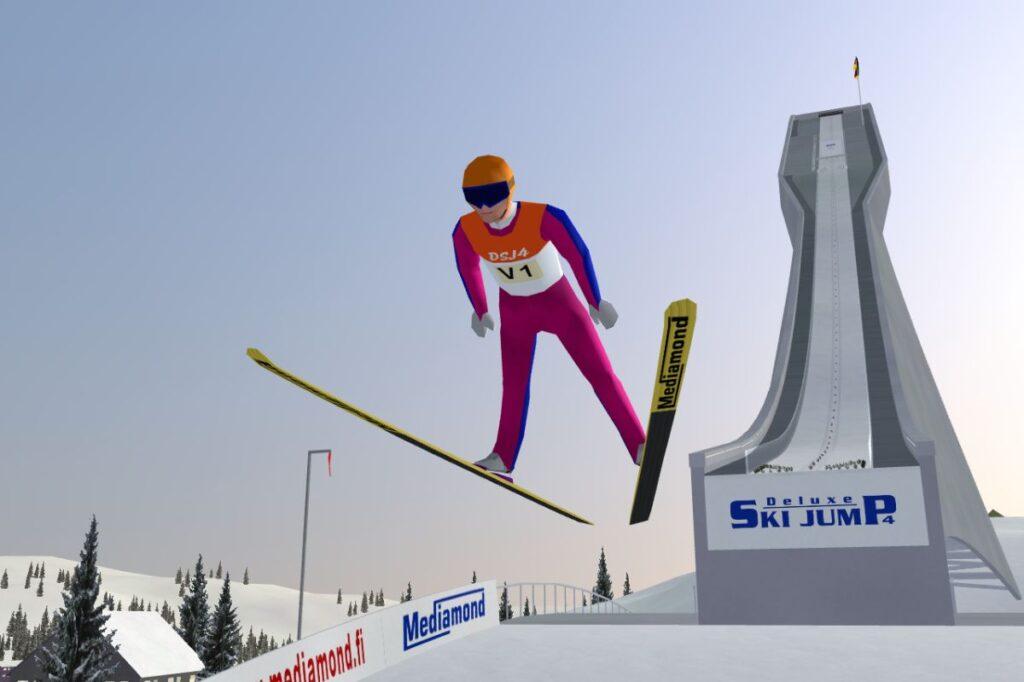 Deluxe Ski Jump – gra, która zawładnęła sercami fanów! (KONKURS)