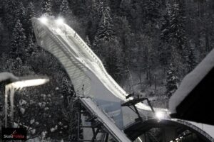 Rozbieg Grosse-Olympiaschanze w Garmisch-Partenkirchen (fot. Julia Piątkowska)