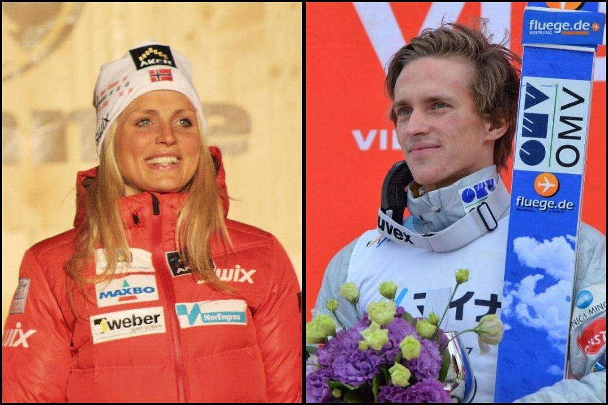 Johaug.Therese Fannemel.Anders fot.Julia .Piatkowska Przemek.Wardega - Brak norweskich skoczków w krajowym rankingu popularności!