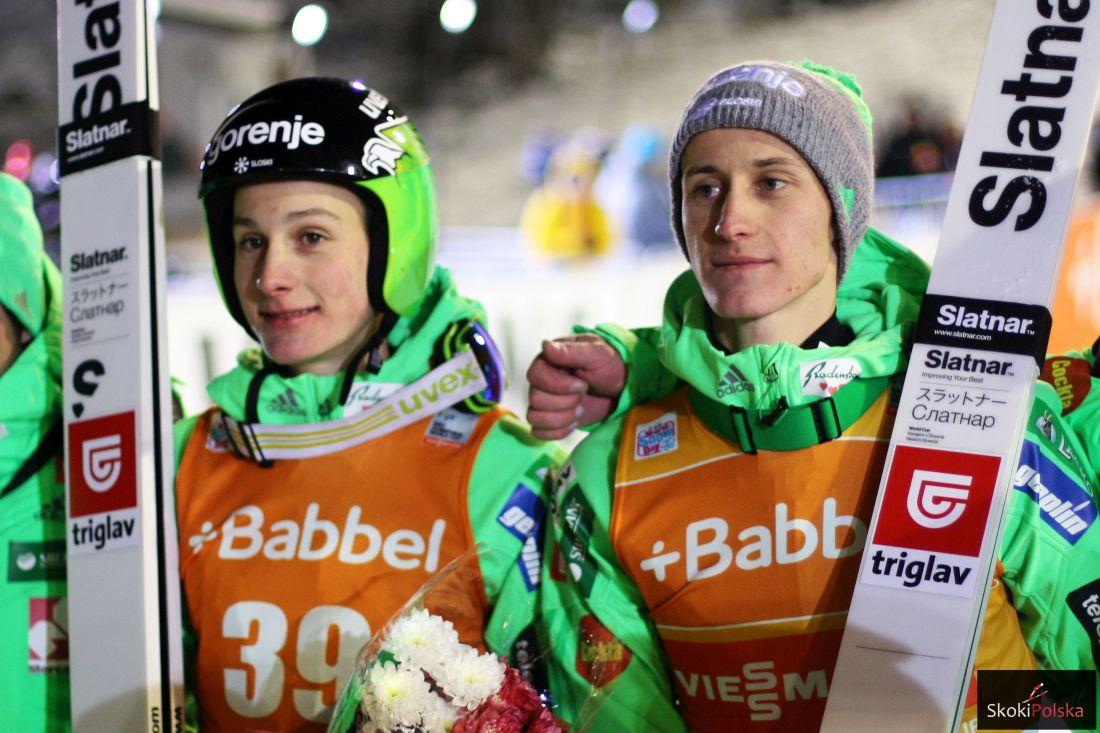 Bracia Prevc - Domen i Peter (fot. Julia Piątkowska)