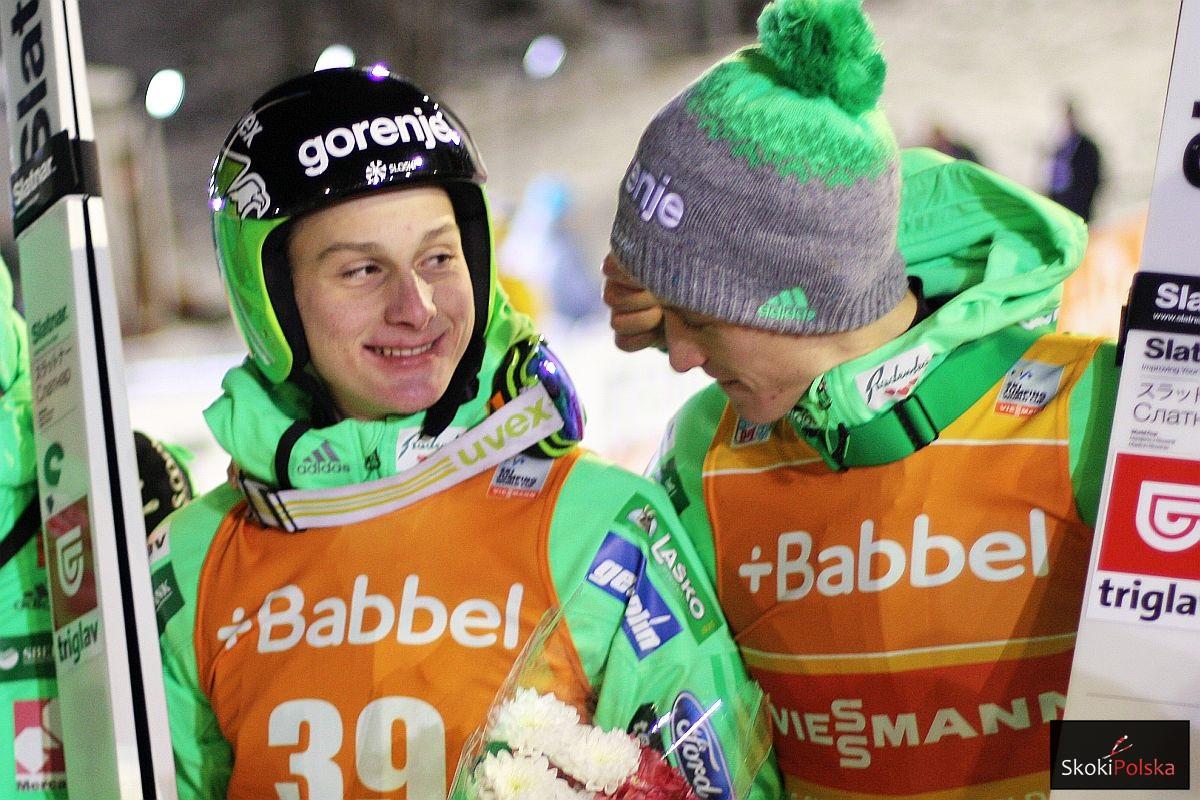 Domen Prevc i Peter Prevc (fot. Julia Piątkowska)