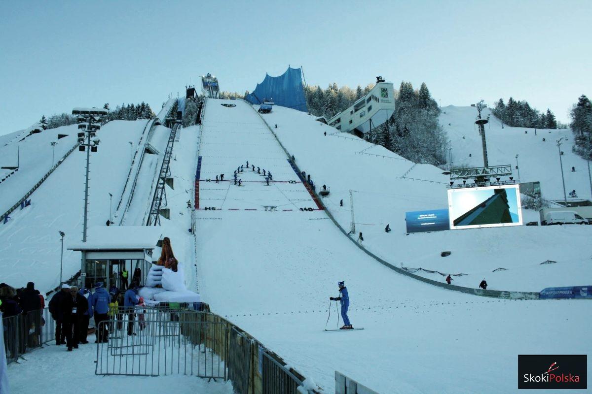 Grosse-Olympiaschanze w Garmisch-Partenkirchen (fot. Julia Piątkowska)