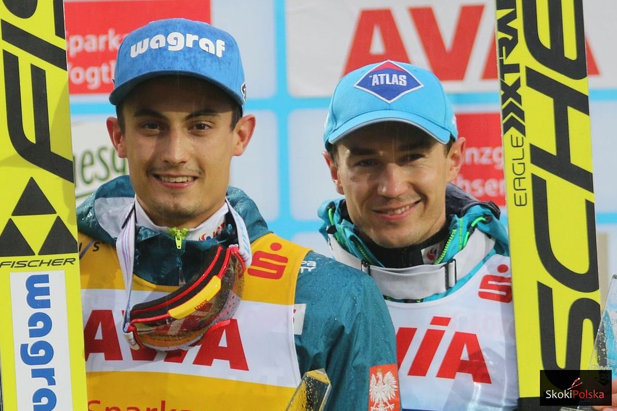 Maciej Kot i Kamil Stoch (fot. Julia Piątkowska)