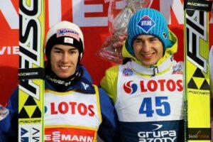 PŚ Oberstdorf: Triumf Stefana Krafta, Kamil Stoch na podium!
