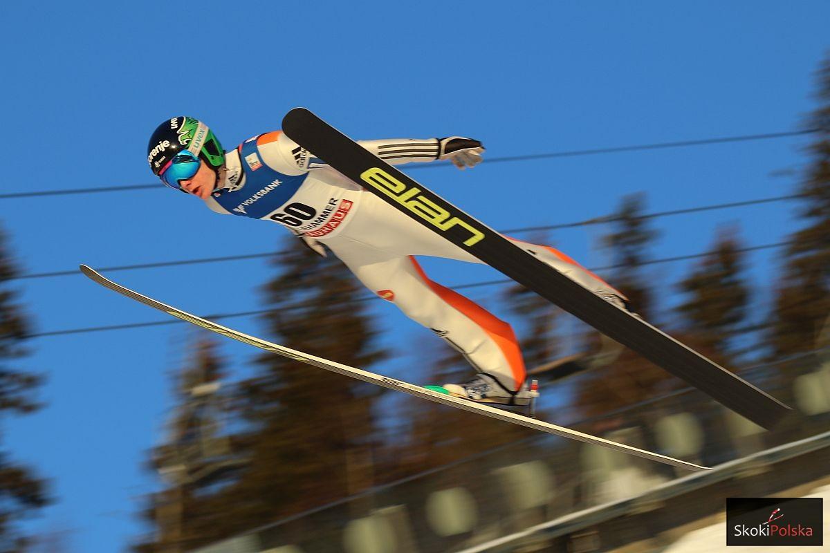 Prevc Domen Lillehammer.2015 fot.Julia .Piatkowska - PŚ Lillehammer: Znakomity Domen Prevc, Stoch i Kot powalczą o podium!