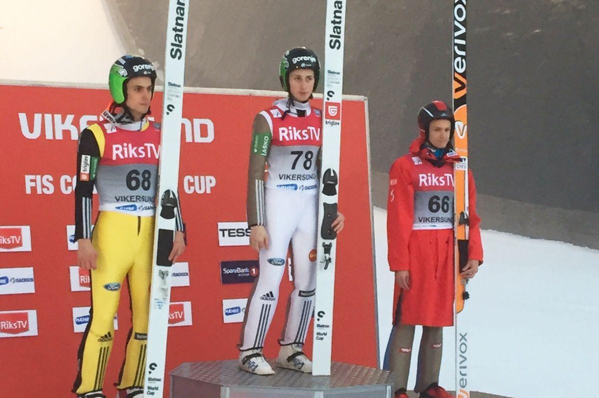 PK Vikersund: Kolejny Prevc niepokonany, Ziobro stracił szansę na podium