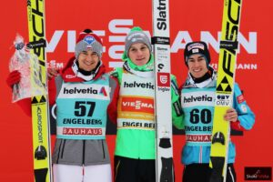 PŚ Engelberg: Festiwal rekordów, zwycięstwo Prevca, podium Stocha!