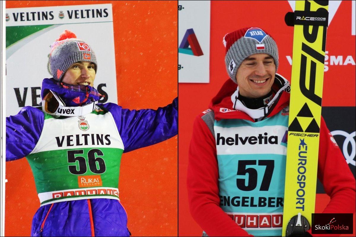 Daniel Andre Tande i Kamil Stoch - czy to właśnie oni powalczą o triumf w 65. TCS? (fot. Julia Piątkowska)