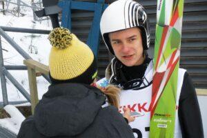 FIS Cup Kuopio: Nousiainen na prowadzeniu, Wąsek piąty