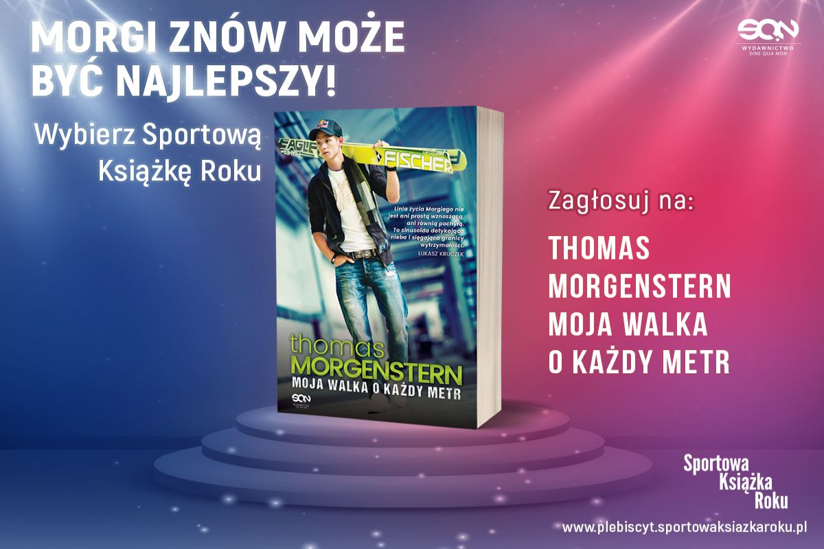 FB grafika nominacja sportowa ksiazka roku 1200X900 thomas morgenstern - Autobiografia Thomasa Morgensterna może zostać Sportową Książką Roku!