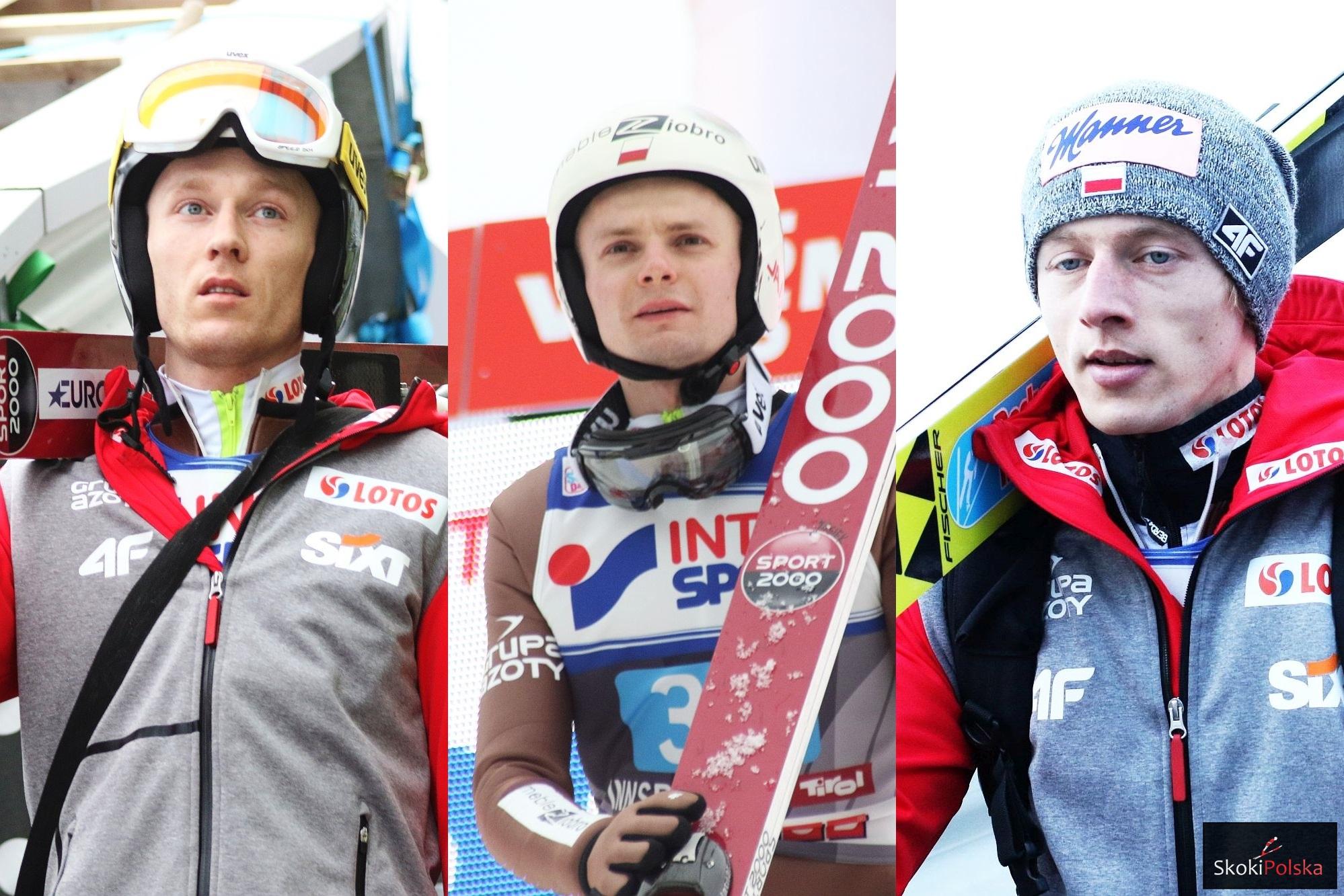 Bohaterowie drugiego planu, Hula, Ziobro i Kubacki po udanym finale 65. TCS
